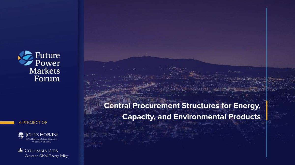 Central Procurement Structures for Energy - Slide 15