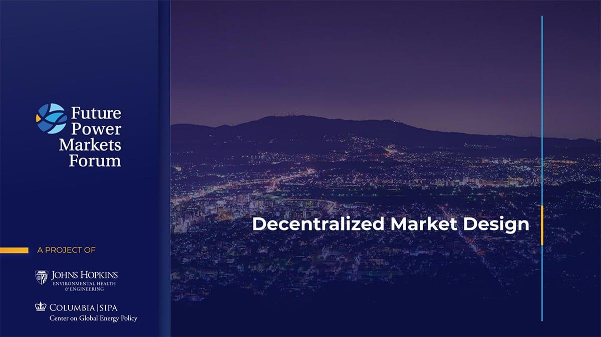 Decentralized Market Design - Slide 25